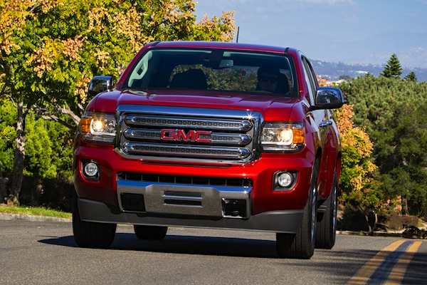 GMC Canyon USA March 2015. Picture courtesy of motortrend.com