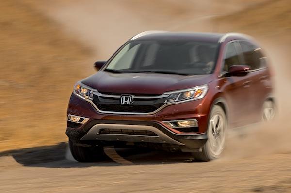 Honda CR-V USA November 2014. Picture courtesy of motortrend.com