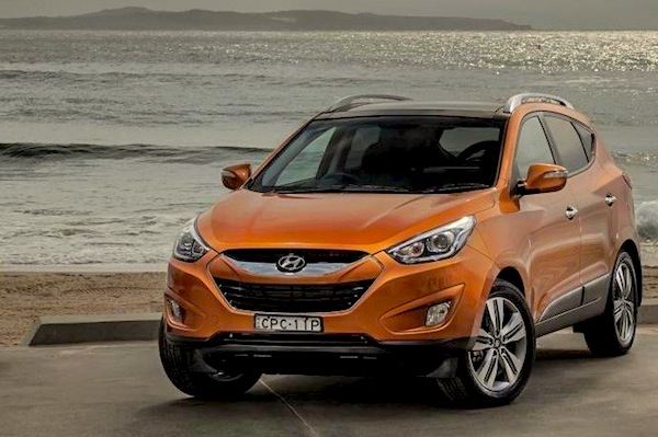 Hyundai ix35 Rep of Macedonia January 2015. Picture courtesy of caradvice.com.au