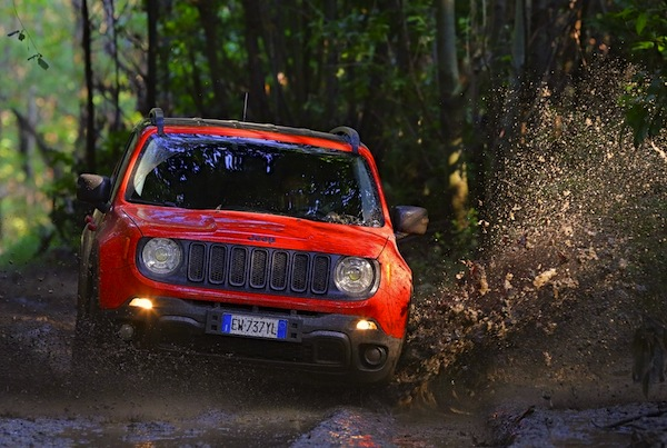 Jeep Renegade Europe 2015