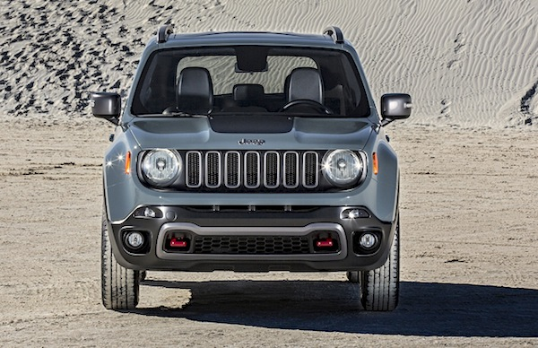 Jeep Renegade USA July 2016