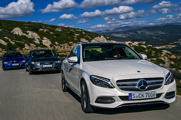 Mercedes C Class Switzerland 2015. Picture courtesy of autobild.de