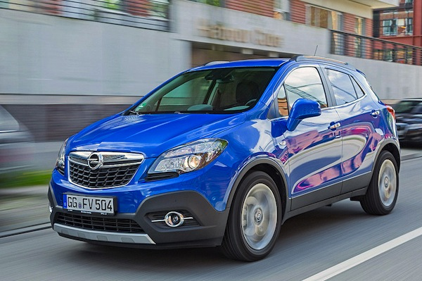 Opel Mokka Latvia June 2016. Picture courtesy of autobild.de