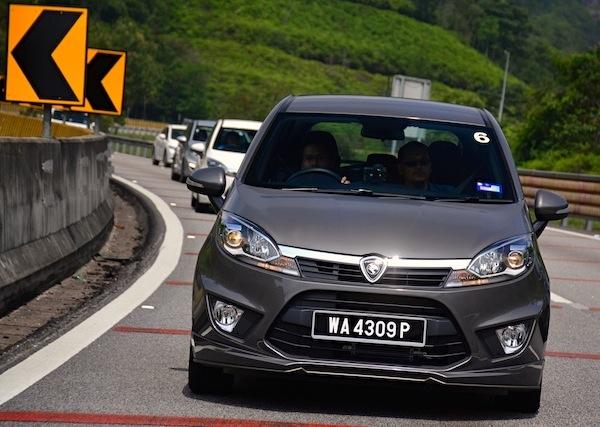 Proton Iriz Malaysia 2014. Picture courtesy of paultan.org