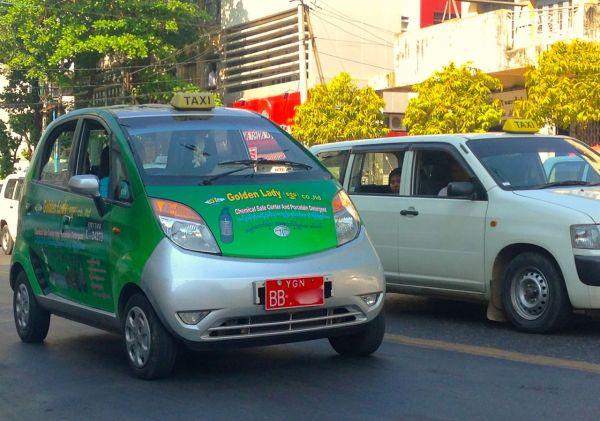 Tata Nano Yangon