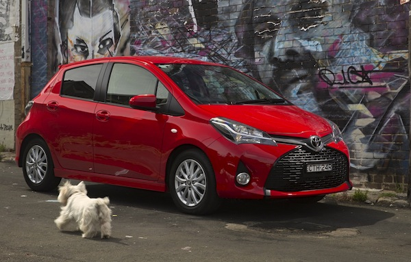 Toyota Yaris New Zealand November 2014. Picture courtesy of caradvice.com.au