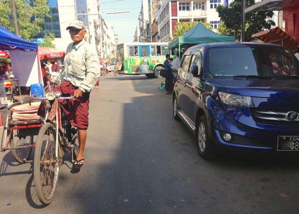 Toyota bB Yangon