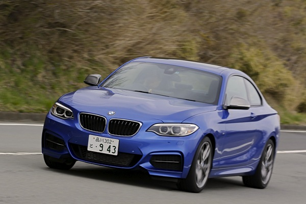 BMW 2 Series Japan December 2014. Picture courtesy of autoc-one.jp