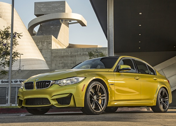 BMW M3 USA December 2014. Picture courtesy of motortrend.com