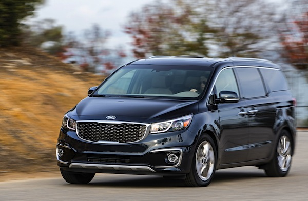 Kia Carnival South Korea February 2015. Picture courtesy of motortrend.com