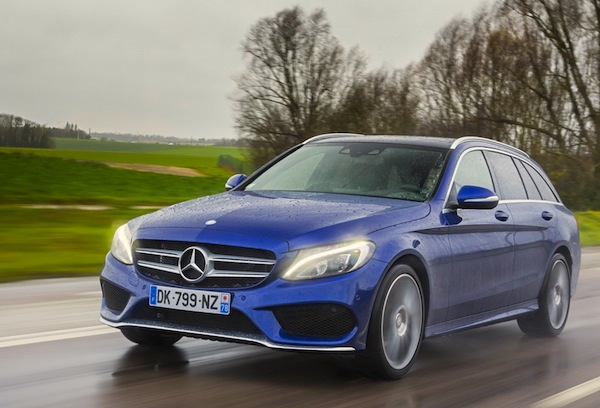 Mercedes C-Class Finland 2014. Picture courtesy of largus.fr
