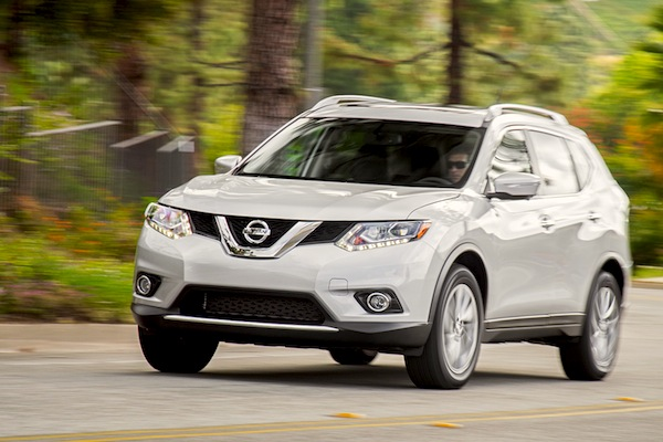 Nissan Rogue USA May 2015. Picture courtesy of motortrend.com