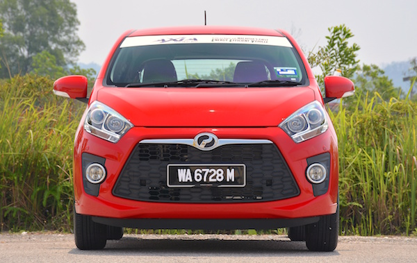 Perodua Axia Advance Malaysia 2014. Picture courtesy of paultan.org