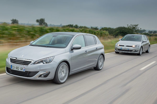 Peugeot 308 Europe July 2016. Picture courtesy largus.fr