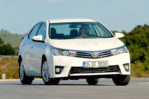 Toyota Corolla June 2015. Picture courtesy of otomobil.com.tr