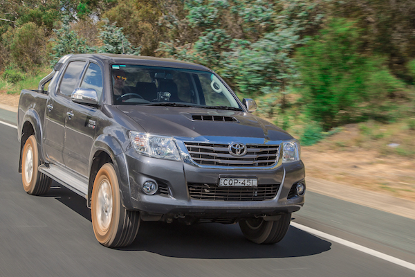 Toyota Hilux El Salvador 2014. Picture courtesy of caradvice.com.au