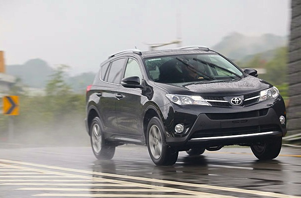 Toyota RAV4 Taiwan 2014. Picture courtesy of u-car.com.tw