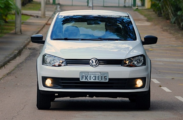 VW Gol Brazil March 2015. Picture courtesy of uol.com.br