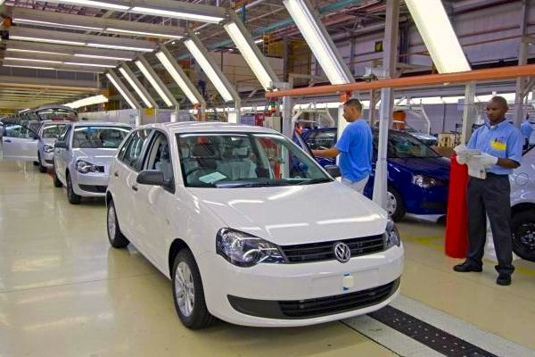 VW Polo Vivo South Africa February 2016. Picture courtesy of claremont.co.za