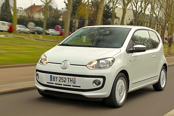 VW Up Denmark 2014. Picture courtesy of largus.fr