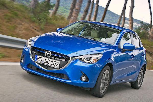 Mazda2 Colombia August 2015. Picture courtesy autobild.de