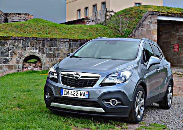 Opel Mokka Italy 2015. Picture courtesy larevueautomobile.com