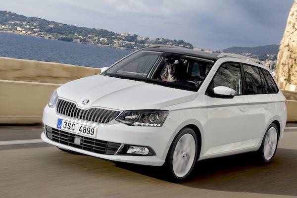 Skoda Fabia Slovakia March 2015. Picture courtesy largus.fr
