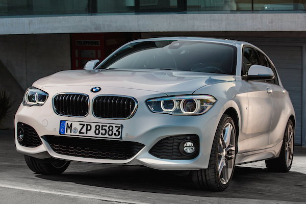 BMW 1 Series Greece August 2015