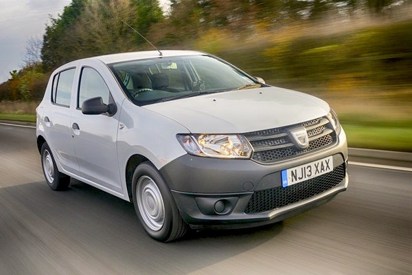 Dacia Sandero Ireland April 2015. Picture courtesy honestjohn.co.uk