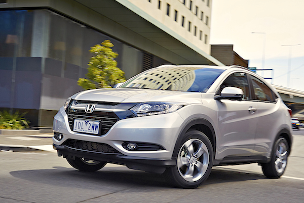 Honda HR-V Finland May 2015. Picture courtesy caradvice.com.au