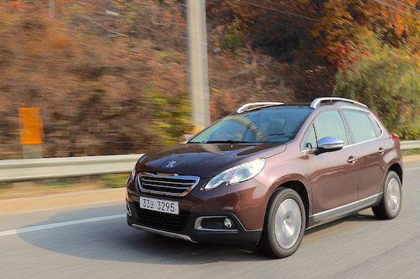 Peugeot 2008 South Korea January 2015. Picture courtesy motorian.kr