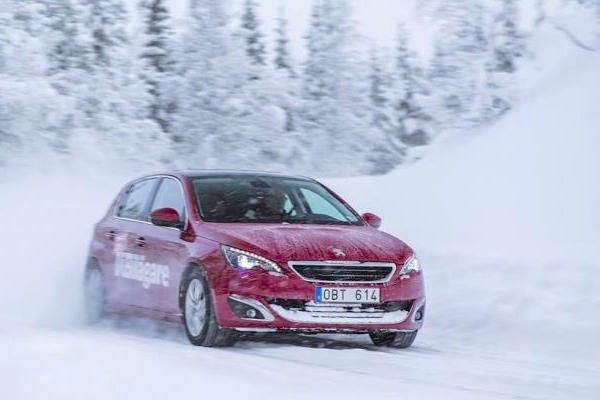 Peugeot 308 Sweden February 2015. Picture courtesy vibilagare.se