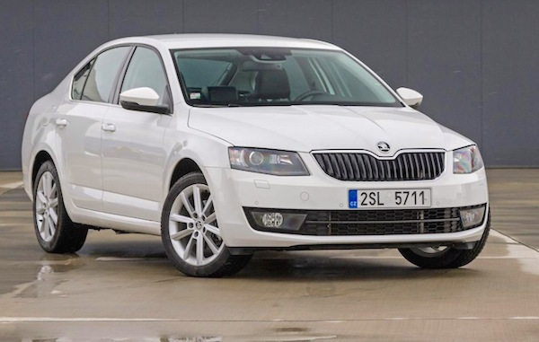 Skoda Octavia Egypt January 2015. Picture courtesy drive2.ru