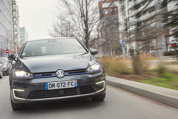 VW Golf GTE Bosnia Novmber 2015. Picture courtesy largus.fr