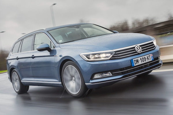 VW Passat Finland February 2015. Picture courtesy largus.fr