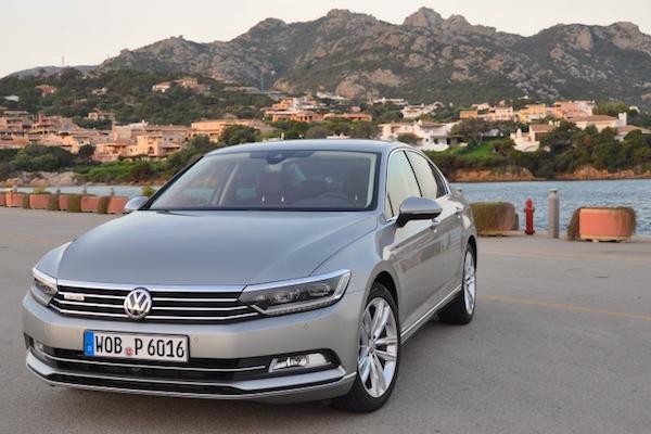 VW Passat Turkey January 2015. Picture courtesy otokokpit.com