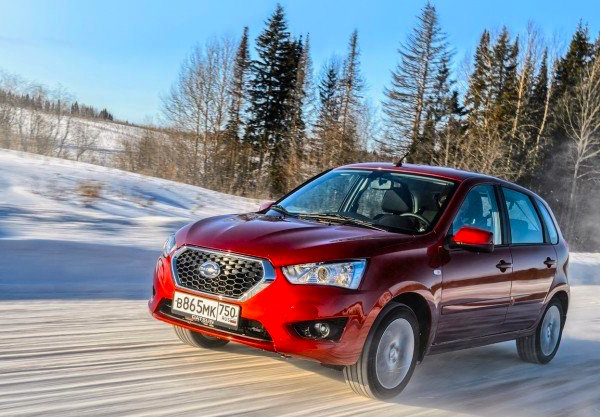 Datsun mi-DO Russia March 2015. Picture courtesy zr.ru