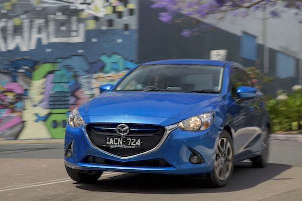 Mazda2 Colombia May 2015. Picture courtesy caradvice.com.au