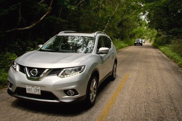 Nissan X-Trail Mexico March 2015. Picture courtesy nissannews.com.mx