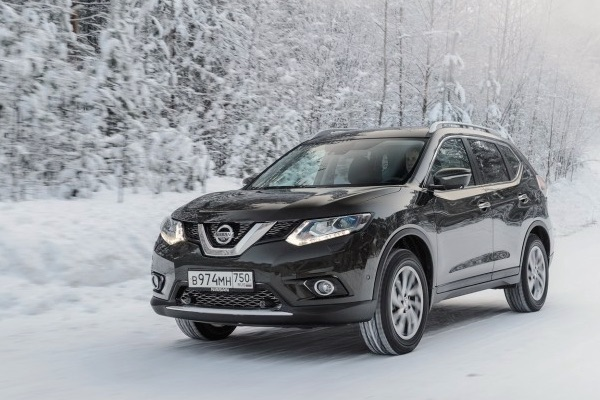 Nissan X-Trail Russia March 2015. Picture courtesy zr.ru
