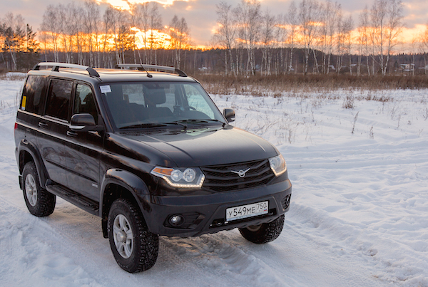 UAZ Patriot Russia March 2015