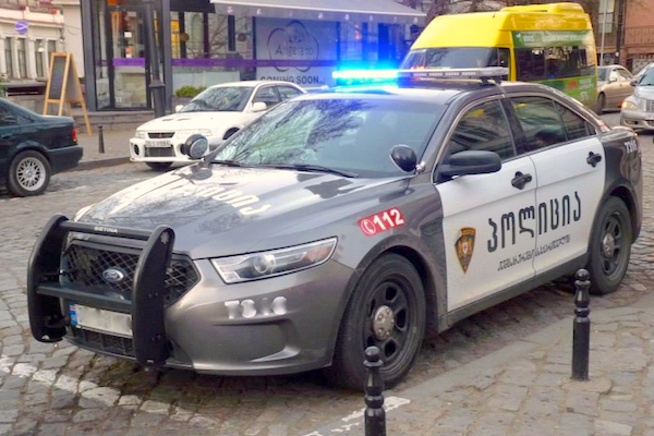 1. Ford Taurus Tbilissi police