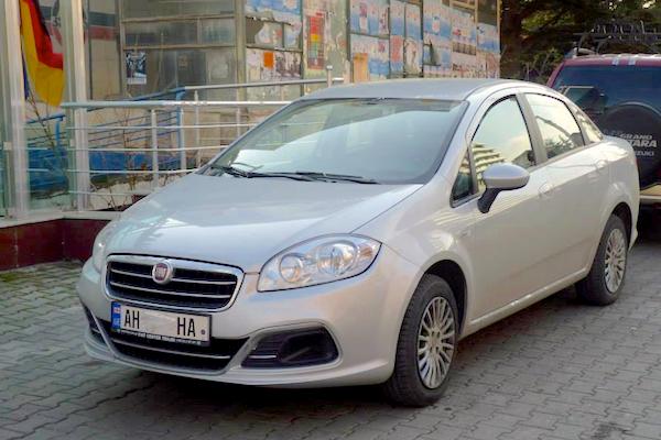 2. Fiat Linea Georgia 2015