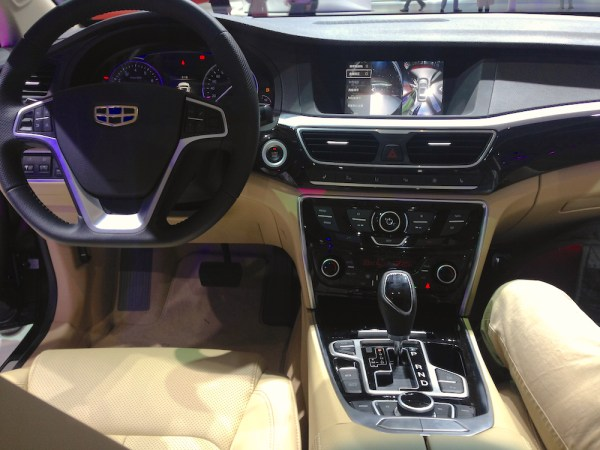 Geely GC9 interior 3