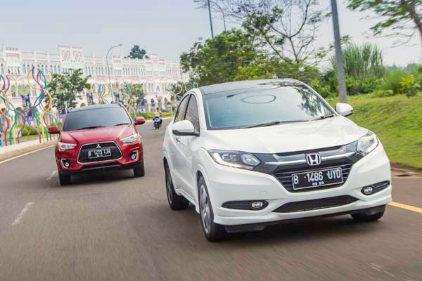 Honda HR-V Indonesia April 2015. Picture courtesy autobild.co.id