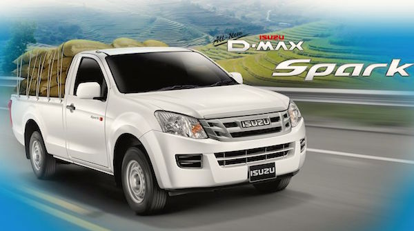 Isuzu D-Max Thailand April 2015. Picture courtesy car4th.com