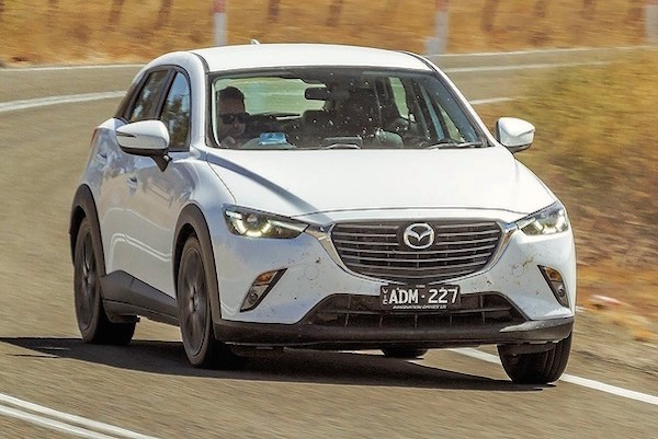 Mazda CX-3 Australia April 2015. Picture courtesy drive.com.au