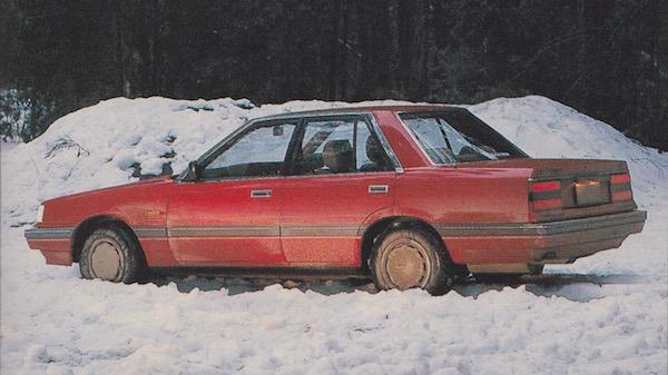 Nissan Pintara Australia 1986