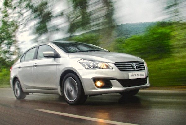 Suzuki Ciaz Egypt March 2015. Picture courtesy cartrade.com