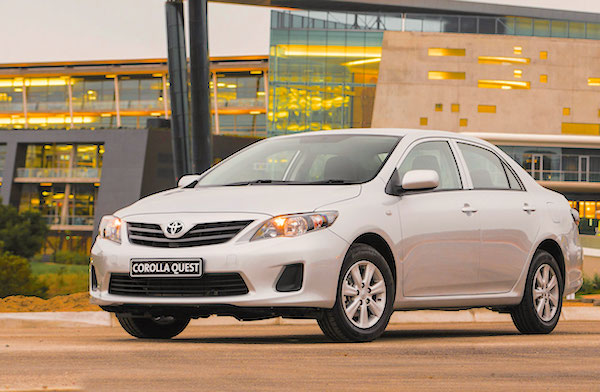 Toyota Corolla Quest Namibia 2014. Picture courtesy drivenews.co.za